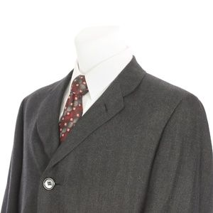 Hickey Freeman Wool Overcoat Men's XL